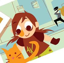 Aikikarol y Kungfujose. Un proyecto de Ilustración y Motion Graphics de Carolina Albalá - 27-01-2011