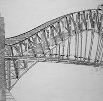 Harbour Bridge. A Illustration project by David  Alvarez Pardo         - 29.01.2011