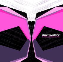 ELECTRA & EDIPO CD Cover. Un proyecto de Diseño e Ilustración de Luis Sierra         - 04.02.2011