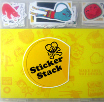 Sticker Stack. A Illustration project by Maia Francisco         - 09.02.2011