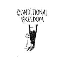 conditional freedom. A Illustration project by raquel valenzuela - 30-04-2011