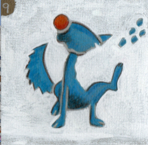 Perro azul. A Illustration, Film, Video, and TV project by Alfredo Polanszky - 10-03-2011