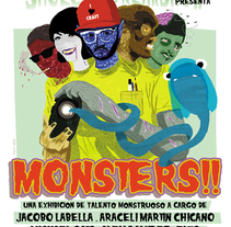 Monsters.. A Design, Photograph, and Advertising project by Araceli Martín Chicano - Mar 24 2011 06:59 PM