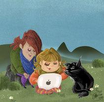 Ilustraciones varias. Un proyecto de Ilustración de Aurora Cascudo Román - 27-03-2011