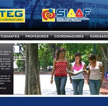 Diseño de Site. A Design, Advertising&IT project by José Rivera         - 12.04.2011