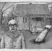 tinta. A Illustration project by Francisco Martín Peralta - 03-05-2011