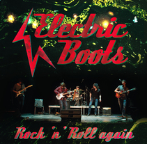 ElectricBoots -CD- Rock 'n' Roll again. A Design, and Photograph project by framed         - 16.05.2011