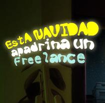 Apadrina un Freelance. Un proyecto de Diseño de Rubén Martínez Pascual - 16-04-2012