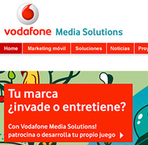 VODAFONE media solutions. A Design project by Rubén Martínez Pascual - May 23 2011 12:54 PM