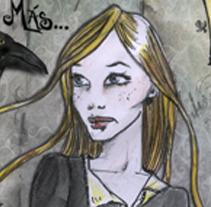 Mi pequeño homenaje a Poe. A Illustration project by Gloria B. Urretavizcaya         - 27.05.2011