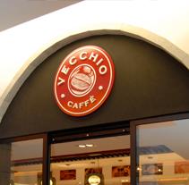 Vecchio Caffè. Un proyecto de Diseño e Instalaciones de Oscar Sanluis - 05-06-2011