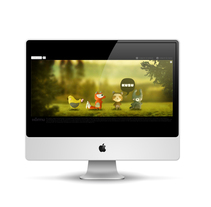 Microsite Green Folks. A Design, Software Development, UI / UX, and Advertising project by Gloria  Joven  - Jun 07 2011 03:28 PM