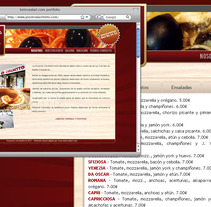 Pizzería L'archetto. A Design, Illustration, Software Development, Photograph, and Advertising project by Joaquín  Fernández Campuzano - 07.05.2011
