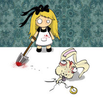 Alice. Un proyecto de Ilustración de Soraya Kraft         - 06.07.2011