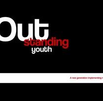 Outstanding Youth. Um projeto de Design, Publicidade e Fotografia de alec herdz         - 10.07.2011
