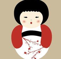 Ilustración: Japonesa. A Illustration project by Xiomara Ariza Bautista         - 13.07.2011