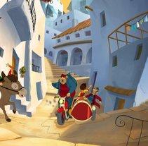 Becassine y el Tesoro de los Vikingos. Um projeto de Cinema, Vídeo e TV de Juan Carlos Moreno         - 21.07.2011