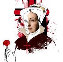 The Tudors. A Illustration project by Lucía Inthesky - 01-08-2011