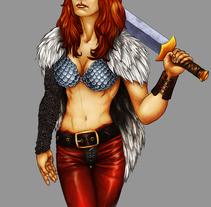 Warriors. Um projeto de Ilustração de Ariel Ferreyra         - 03.08.2011