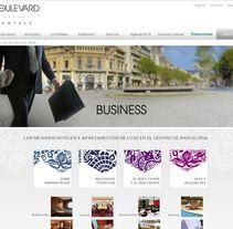 Boulevard Hoteles. Un proyecto de Diseño, Publicidad y UI / UX de Montse Álvarez         - 12.08.2011