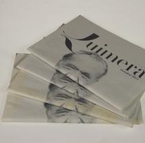 Rediseño de Quimera (Revista Literaria)  . Un proyecto de Diseño de Iria Melendro Díaz - Domingo, 21 de agosto de 2011 21:18:56 +0200