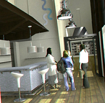 Restaurante El Puerto. A Design, and 3D project by Ramon  Artime - 01-09-2011