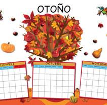 Calendario. Un proyecto de Diseño, Ilustración y UI / UX de Emil Markov - 07-09-2011