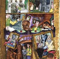 Comics 2/ Libros de texto. Un proyecto de Diseño, Ilustración y UI / UX de Emil Markov - 07-09-2011