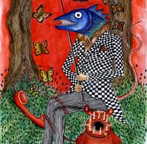 ska fish. Um projeto de Ilustração de Penelope Moreno         - 10.09.2011