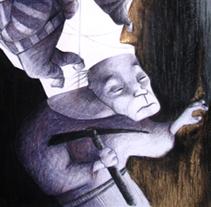 El poble de l'or. Un proyecto de Ilustración de Lola Roig - Sábado, 22 de octubre de 2011 12:42:36 +0200