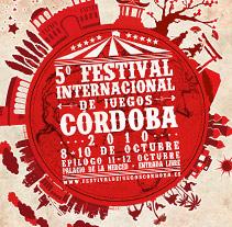 Cartel Festival Internacional de Juegos de Córdoba 2010. A Design, and Advertising project by dramaplastika - 26-10-2011