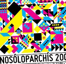 Cartel Nosoloparchís 2009. Un proyecto de Diseño de dramaplastika - 26-10-2011