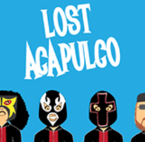 Vídeoclip Lost Acapulco. A Design, Illustration, Animation, and Video project by Rosa López - 09-11-2011