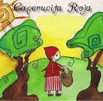 Ilustración | Caperucita Roja. A Design&Illustration project by Natacha  Côrte-Real Duarte Pessanha         - 10.11.2011