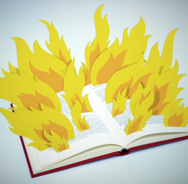 FAHRENHEIT 451. A Design, Illustration, and Motion Graphics project by Adalaisa  Soy - Mar 11 2011 12:00 AM