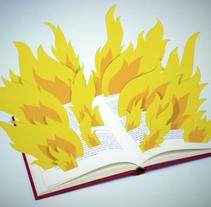 FAHRENHEIT 451. Un proyecto de Diseño, Ilustración y Motion Graphics de Adalaisa  Soy - Viernes, 11 de marzo de 2011 00:00:00 +0100