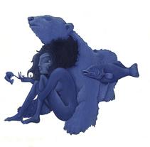 Azul Como la desnudes del mar, como el frio del invierno. A Illustration project by Daniel Camilo Vargas Barrios         - 15.11.2011