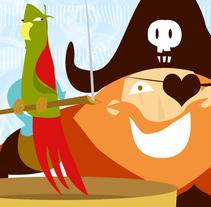 pirata. Un proyecto de  de Nadia Morales Perez         - 18.11.2011