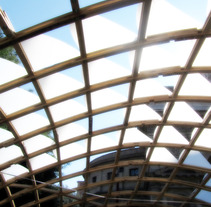 Wood Gridshell Pavilion - Roma. A Design, Software Development, and 3D project by arquiviz         - 05.12.2011