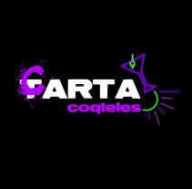 Cartelería Cocteles. A Design project by Beatriz Fernandez Garcia         - 06.12.2011