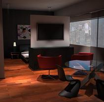 Diseño de una suite en Nueva York. Um projeto de Design e 3D de Elena Luque Pérez         - 17.12.2011