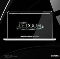 Logotipo: The Hall Of Dr. Doom. Um projeto de Design de KikeNS         - 05.01.2012