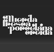Lettering - Tipografía. A Design&Illustration project by Omar Lopez Sanchez         - 09.01.2012