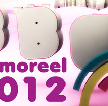 Demoreel 2012. A Motion Graphics, and 3D project by Rafa Rguez. Cuevas         - 09.01.2012
