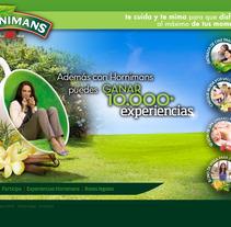 Hornimans diseño minisite. Um projeto de Design e Publicidade de Sergio Sala Garcia         - 26.01.2012