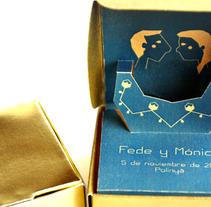 Fede+Monica. Un proyecto de Diseño e Ilustración de Serena Vacas - Martes, 07 de febrero de 2012 13:37:35 +0100