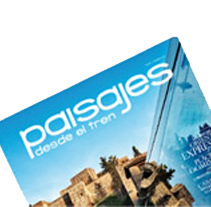 Revista Paisajes desde el tren (Renfe). A Design project by L. D.LAURA         - 11.04.2012
