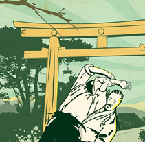 Aikido. A Illustration project by Aldo Tonelli         - 05.03.2012