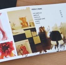 Brochure salone bellezza. A Advertising project by Raffaele Fanini         - 13.03.2012
