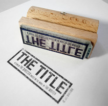The Title. A Design, Film, Video, and TV project by Barfutura         - 14.03.2012